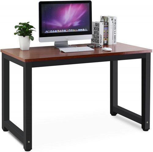 1. Tribesigns Modern Simple Laptop Study Table