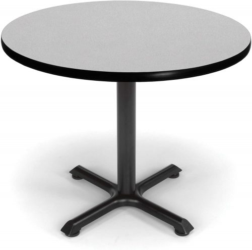 "2. OFM Core Collection 36"" Multi-Purpose Round Table, in Gray Nebula"
