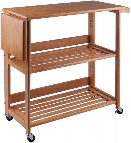 10. Winsome Radley Kitchen Cart