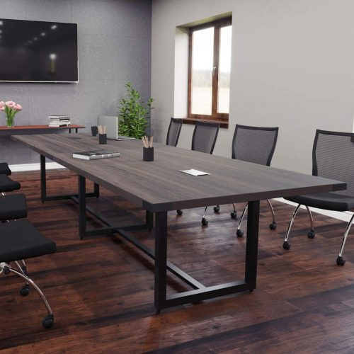 Office Pope 16 Foot Modern Conference Room Table