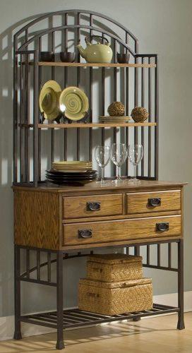5. Home Styles Oak Bakers Rack