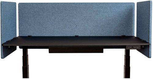 6. ReFocus Acoustic Rear Mount Desk Dividers