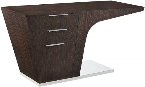 8. Modway Warp Office Desk