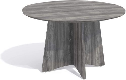 "6. Mayline Medina 48""Dia. Round Conference Table"