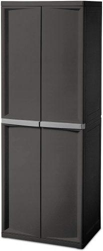 7. Sterilite 01423V01 Shelf Cabinet