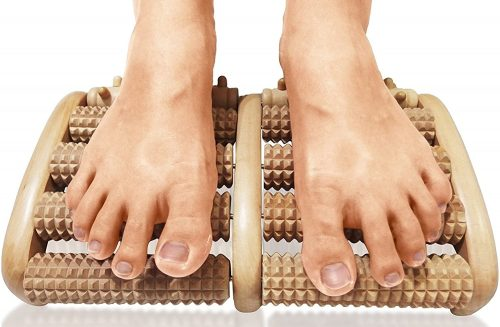 7. TheraFlow Dual Foot Massager