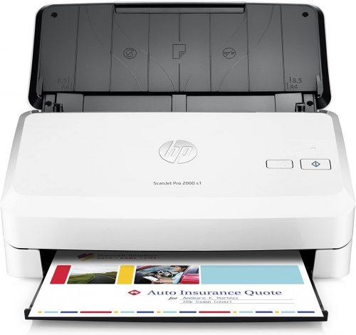 2. HP ScanJet Pro 2000 s1 Sheet-feed OCR Scanner