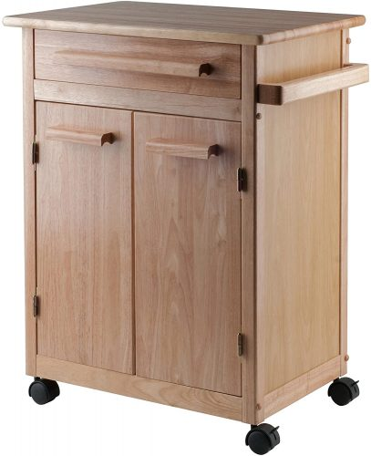 3. Winsome Single Drawer Kitchen Cabinet