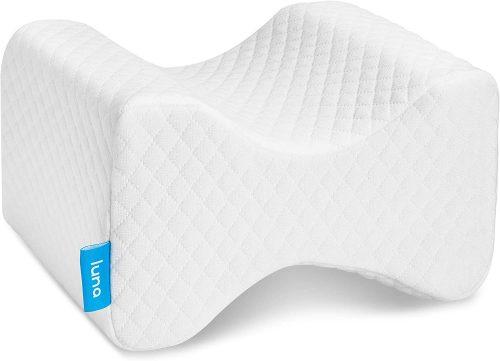 5. Luna Orthopedic Knee Pillow
