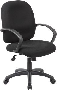 10. Boss Office Products Ergonomic Budget Task Chair