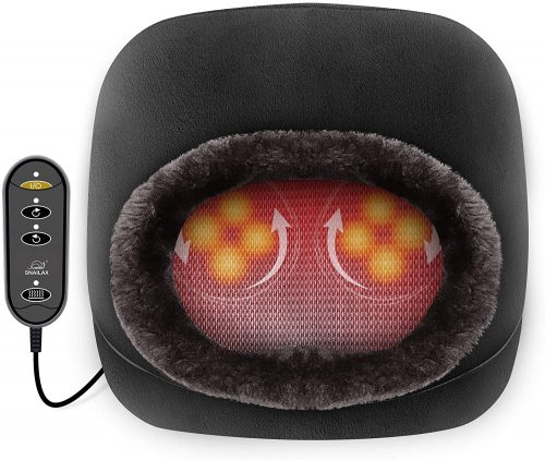 10. Snorlax 2-in-1 Shiatsu Foot and Back Massager