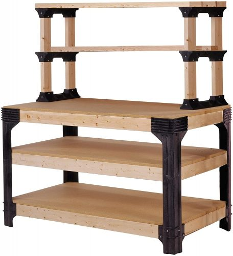5. Hopkins Storage Shelving and Workbench