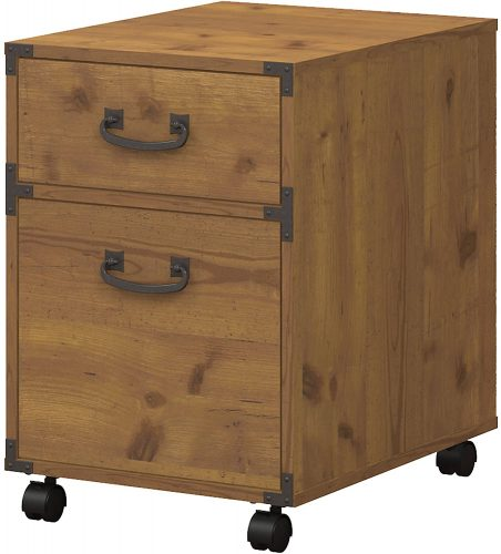 6. Kathy Ireland Home Cabinet By Bush Furniture
