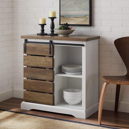 1. Walker Edison Sideboard Cabinet