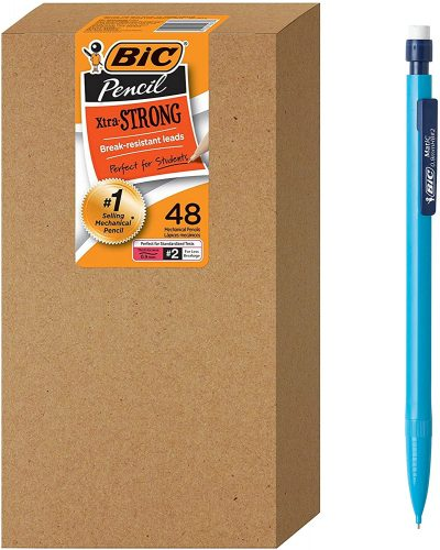 BIC Xtra-Strong Mechanical Pencil, Colorful Barrel