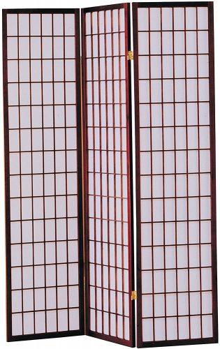 3. ACME 02284 Wood Folding Screen