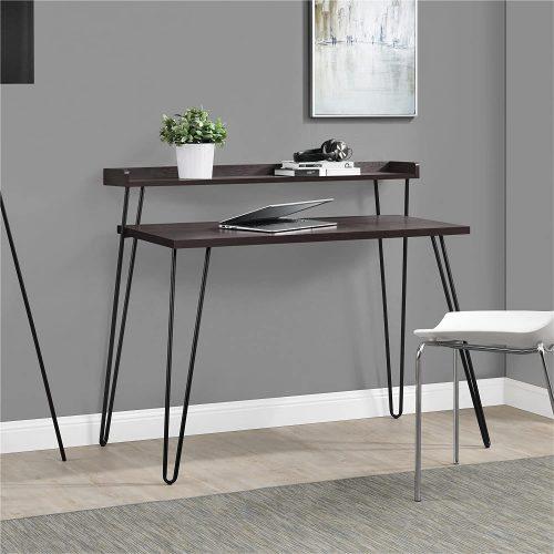 3. Ameriwood Home Haven L Riser Desk