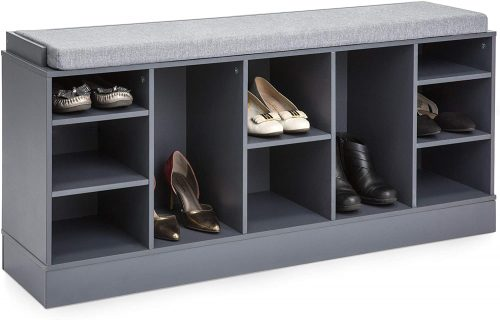 3. Best Choice Products Multi-Functional Shoe Rack Bench