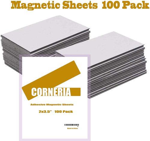3. Corneria Self Adhesive Business Card Magnets 20mil
