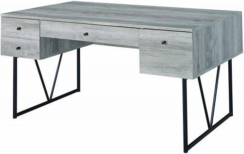 5. Analiese 4-Drawer Writing Desk