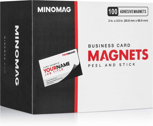 10. Minomag Business Card Magnets