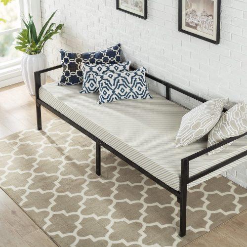 5. Zinus Brandi Day Bed Frame and Foam Mattress