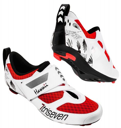 6. TriSeven Premium Nylon Triathlon Cycling Shoes