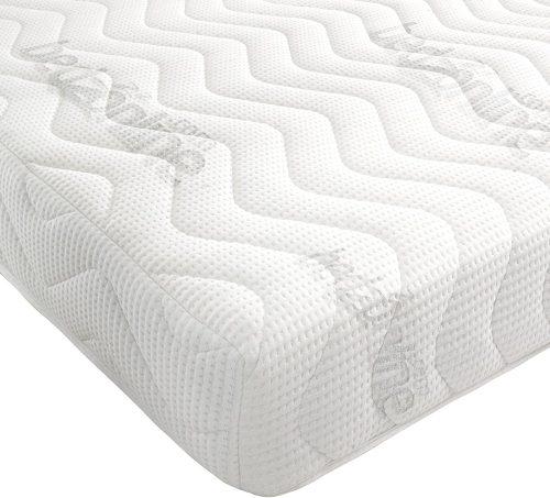 8. Bedzonline 7-Zone Memory Foam Rolled Mattress- Super King Sized Mattresses