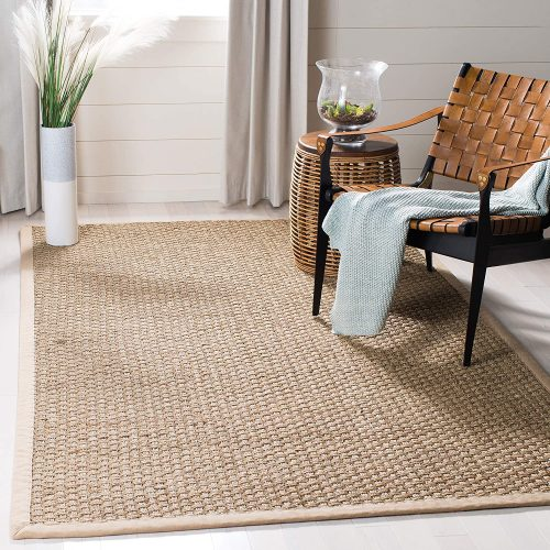 1. Safavieh Natural Fiber Collection NF114A Basketweave