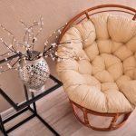 Outdoor Papasan Chair