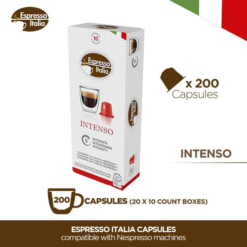 Nespresso Capsules - Espresso Italia Coffee pods