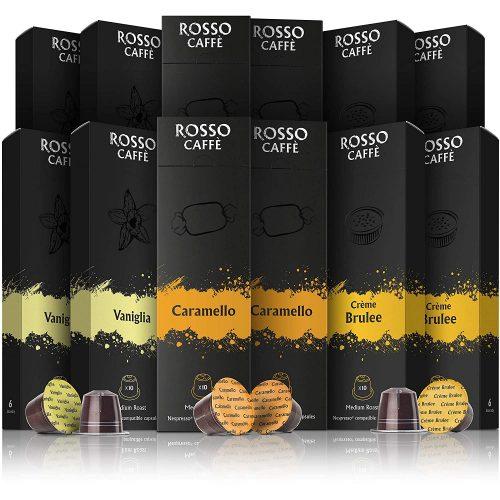 Rosso Coffee Capsules for Nespresso Original Machine