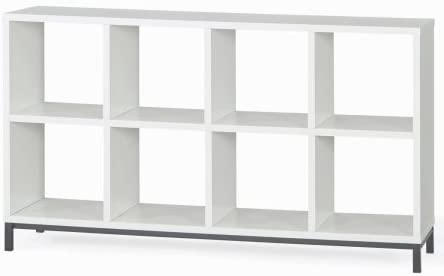 1. Better Homes and Gardens 8-Cube Organizer with Metal Base