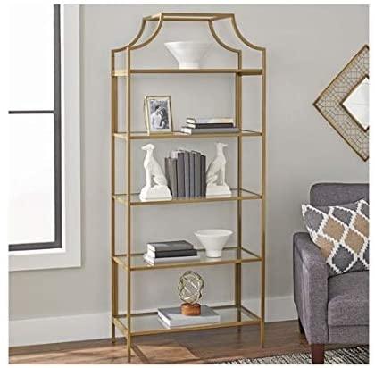 9. Better Homes and Gardens Nola 5-Open Shelves Bookcase