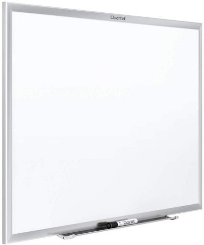 2. Quartet Magnetic Whiteboard, 8' x 4' White Board, Nano-Clean