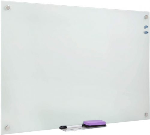 9. Mount-It! Magnetic Glass Dry Erase Board