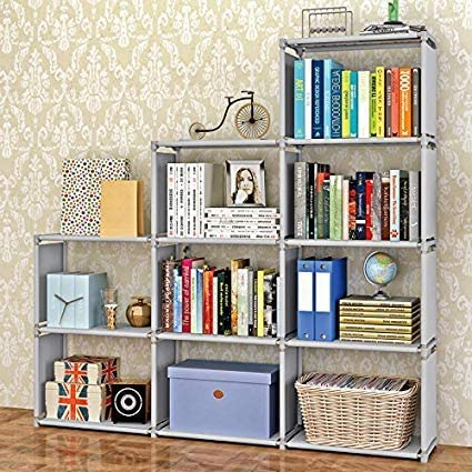 7. Jukert DIY Adjustable Bookcase