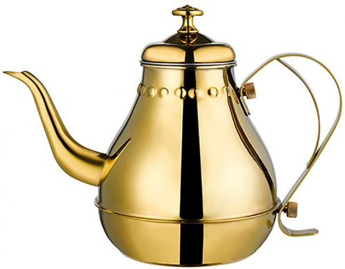 1. teapot-Removable stainless steel teapot with filter