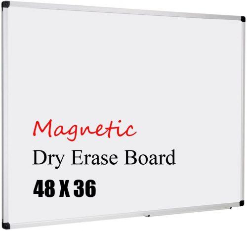 6. XBoard Magnetic Whiteboard 48 x 36, White Board