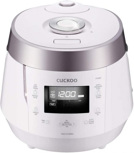 4. Cuckoo CRP-P1009SW 10 Cup Electric Heating Pressure Cooker