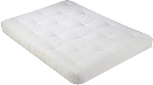 10. Serta Chestnut Double Sided Foam and Cotton Full Futon Mattress