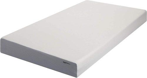 2. AmazonBasics 8-Inch Memory Foam Mattress