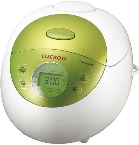9. Cuckoo CR-0351FG Rice Cooker