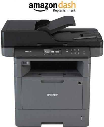 Brother Monochrome Laser Printer, Multifunction Printer - Duplex Printing