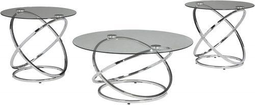 1. Hollynyx Contemporary Table Set
