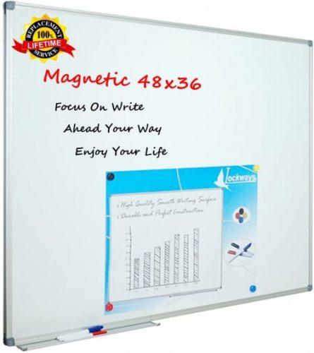 7. Lockways White Board Dry Erase Board