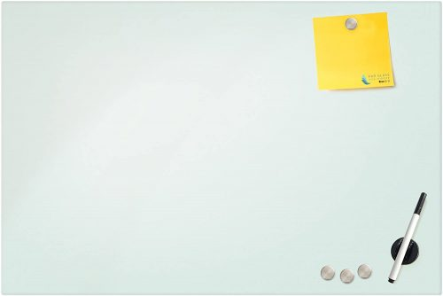 6. Magnetic Glass Eraser Board - Eased Corners Whiteboard