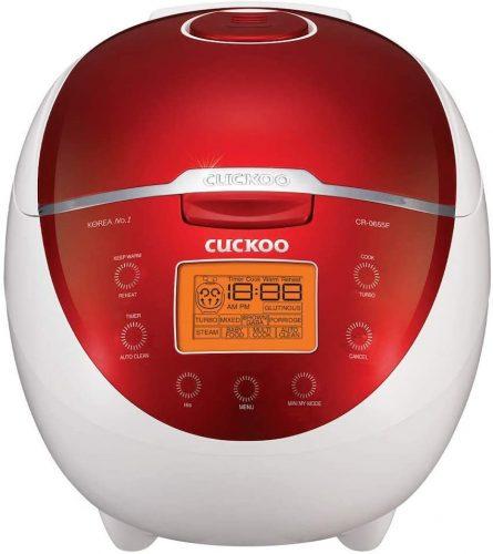 10. Cuckoo CR-0655F Rice Cooker & Warmer