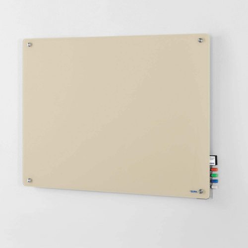 "5. 48""W x 36""H Magnetic Glass Dry Erase Board"