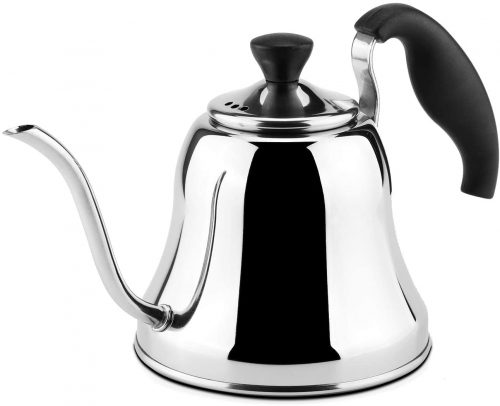 9. Chefbar Tea Kettle Gooseneck Coffee Kettle Pour Over Coffee Kettle